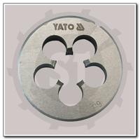 Плашка конічна круглі для нарізування конічної дюймової різьби Гост 6228